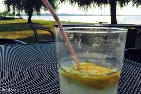 Restaurant aan het meer (Abadszalok)