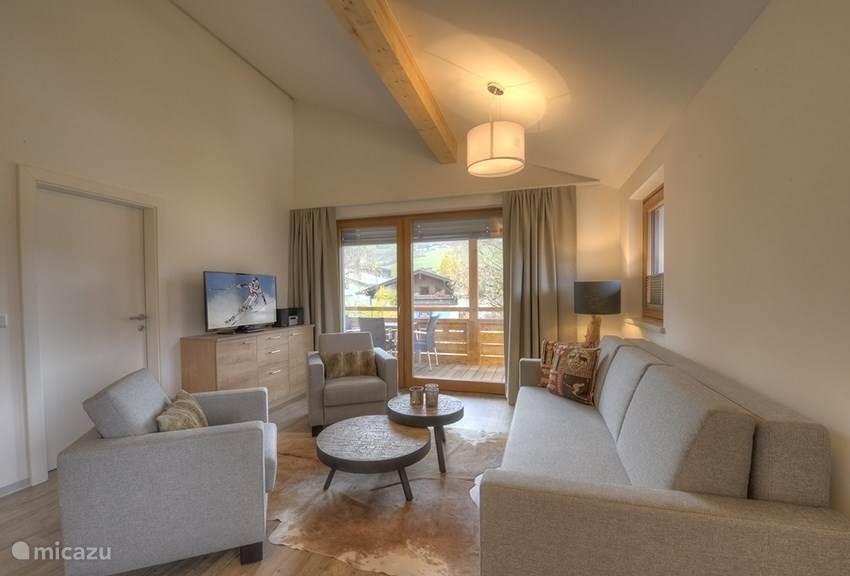Living room Penthouse Kaprun