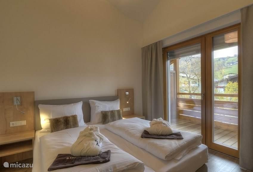 Master bedroom Penthouse Kaprun.