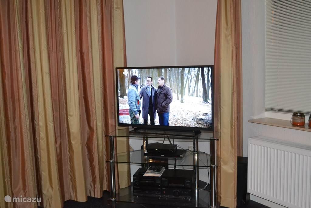 aanzicht TV,DVD,CD en Radio