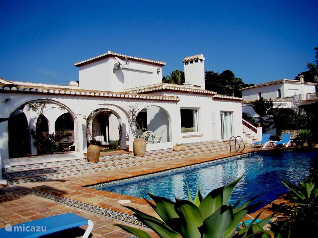 Vakantiehuis Spanje, Costa Blanca, Moraira villa Villa Zenzi loopafstand Moraira