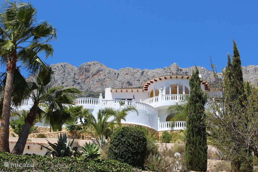 Ferienwohnung Spanien, Costa Blanca, Altea la Vieja appartement Casa Suerte, Altea la Vella