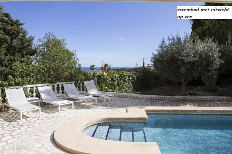 Vakantiehuis Spanje, Costa Blanca, Moraira Villa Charmante vakantievilla met zeezicht