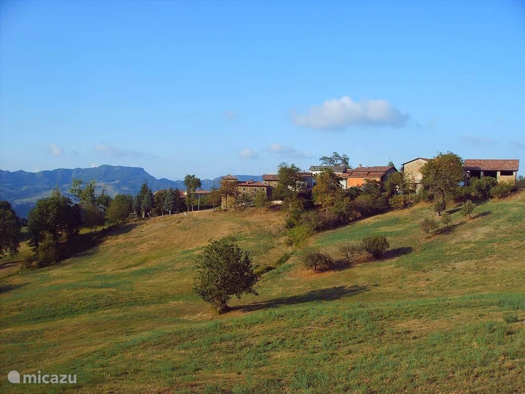 Het dorpje Stiano