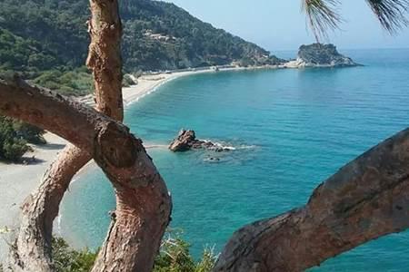 stranden van Samos