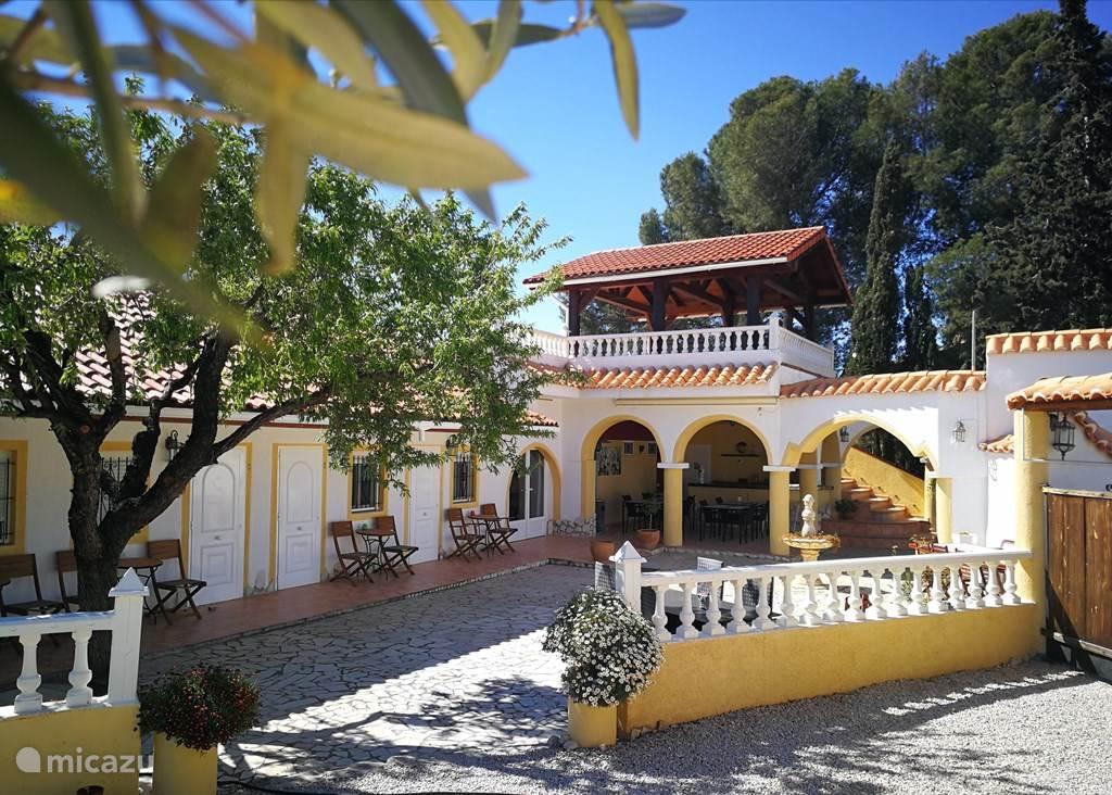 Vakantiehuis Spanje, Costa Blanca, Aigües finca Finca Bilou, max. 10 personen