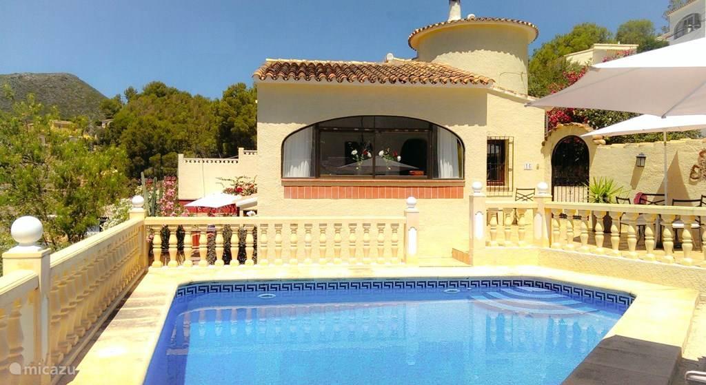 Vakantiehuis Spanje, Costa Blanca, Adsubia villa Casa Annemique