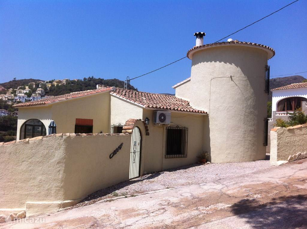 Vacation rental Spain, Costa Blanca, Adsubia Villa Casa Annemique