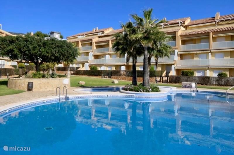Vakantiehuis Spanje, Costa del Azahar, Alcoceber Penthouse Las Fuentes Beach, Sierra de Irta