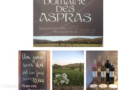 Domaine des Aspras in Correns