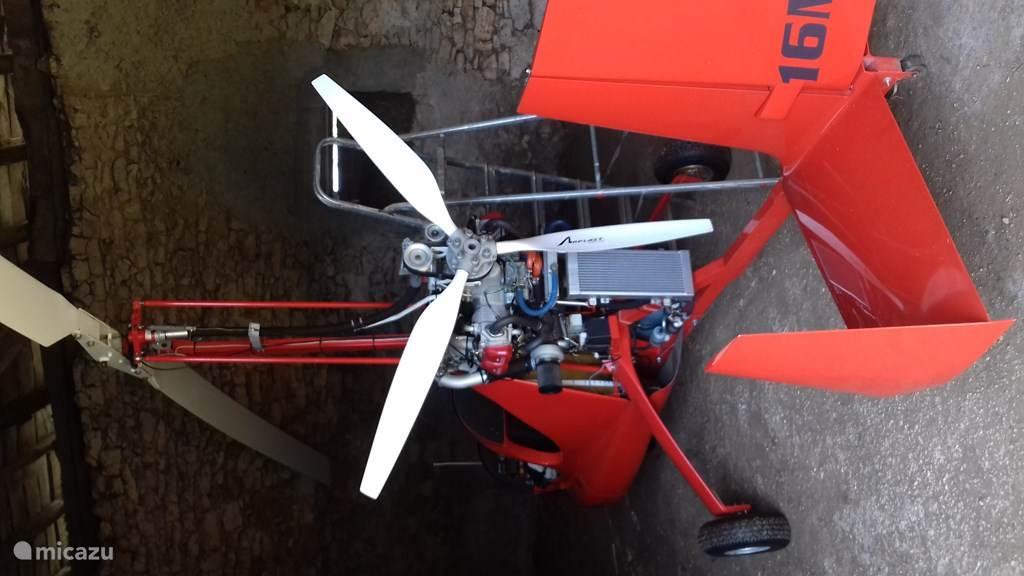 mogelijkheid voor de durfals om mee te vliegen met de boer zijn giroscoop