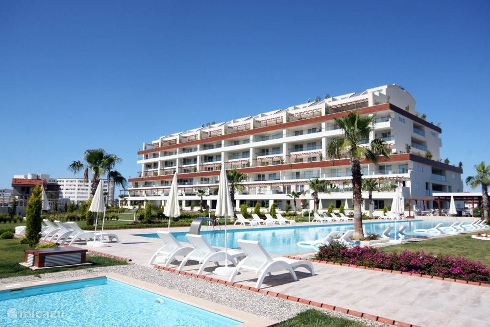 Vakantiehuis Turkije, Turkse Rivièra, Side appartement Babylon Beach Apartment