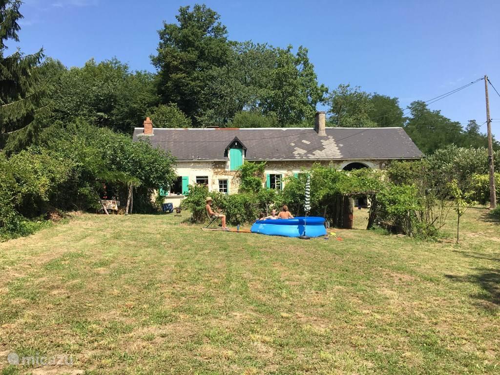 De tuin en het huis