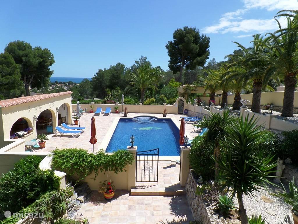 Vakantiehuis Spanje, Costa Blanca, Benissa appartement Villa Senomar appartement Miro