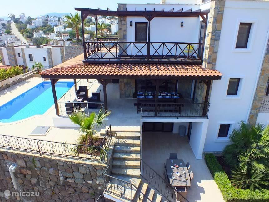 Vakantiehuis Turkije, Egeïsche Zee, Gündogan villa Villa Amici