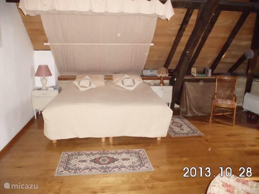 slaapkamer met lits-jumeau
