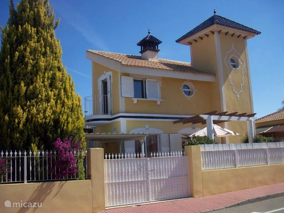 Vakantiehuis Spanje, Costa Cálida, Mazarrón villa Villa Vlinder 4345