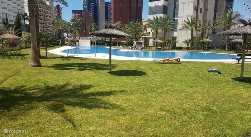 Vacation rental Spain, Costa Blanca, Benidorm apartment Luxury apartment, Gemelos 26-2BC