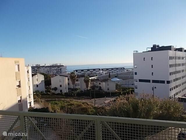 uitzicht vanaf het grote balkon