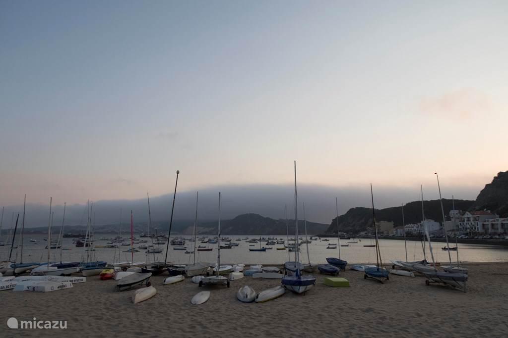 de baai van São Martinho do Porto