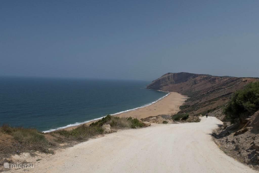 het strand Praia da Gralha