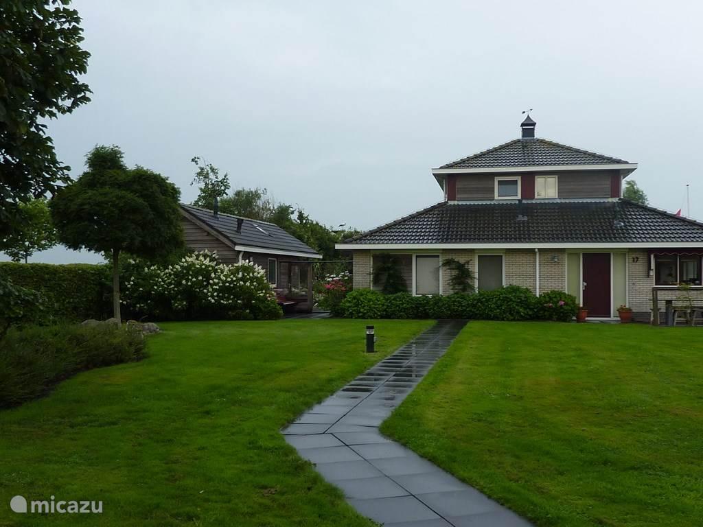 Vakantiehuis Nederland, Friesland, Grouw vakantiehuis Huize Djerreblom