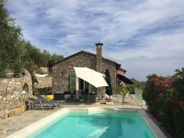 Vakantiehuis Italië, Ligurië, Civezza - villa Casa San Sebastiano