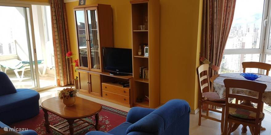 Vakantiehuis Spanje, Costa Blanca, Benidorm Appartement Luxe appartement, Gemelos 22-30Q