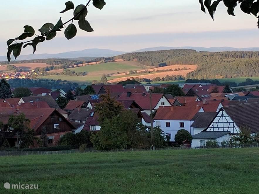 Wandelgebied in omgeving Humpfershausen