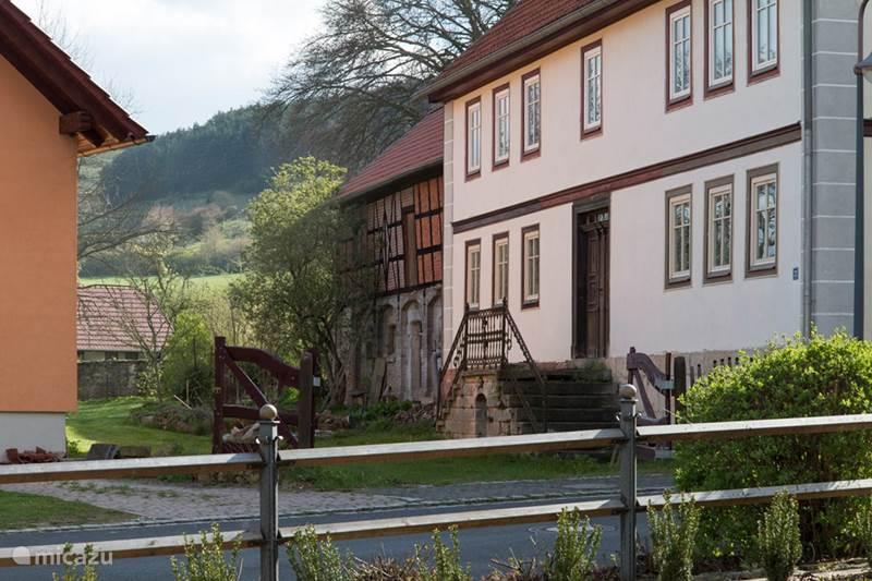 Vakantiehuis Duitsland, Thüringer Woud, Hümpfershausen Vakantiehuis Vakantiewoning Thuringen