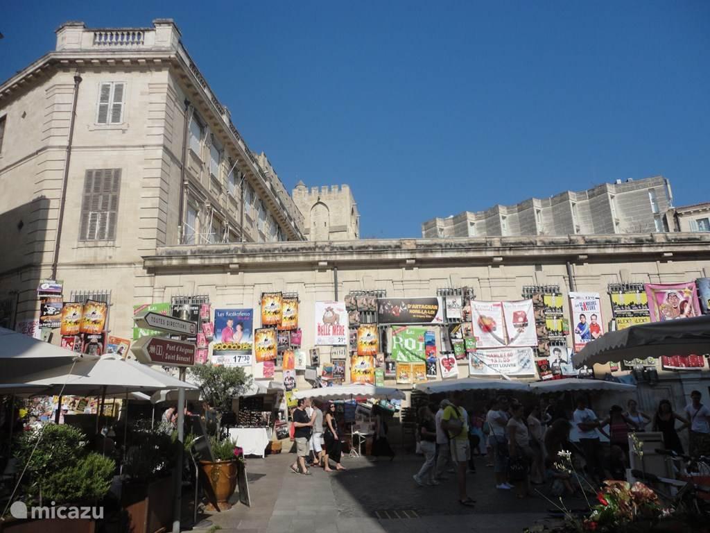 Avignon in juli