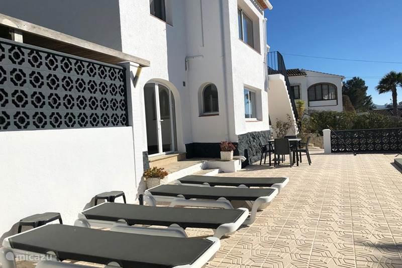 Vakantiehuis Spanje, Costa Blanca, Javea Vakantiehuis Casa Cinco Villa 1-8 personen