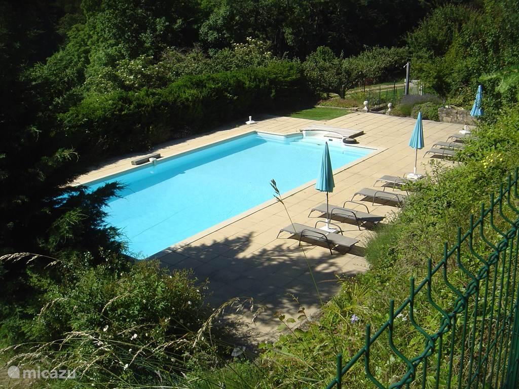 Vakantiehuis Frankrijk, Ardèche, Saint-Privat Gîte / Cottage Gite 'La Salle des Honneurs'