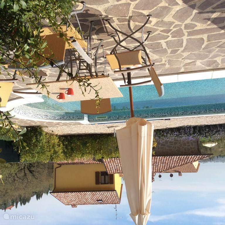 Vacation rental Italy, Umbria, Tuoro sul Trasimeno Terraced House Casa Trasimeno