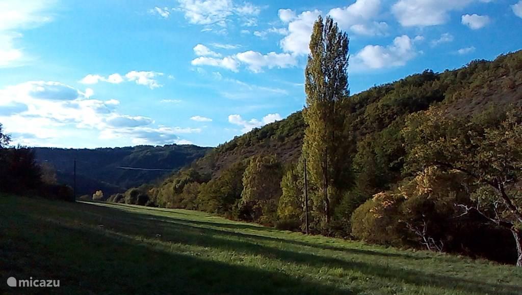 Deel van het landgoed Le Cluzel