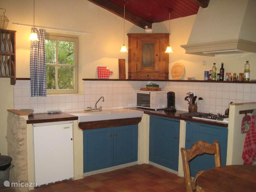De open keuken