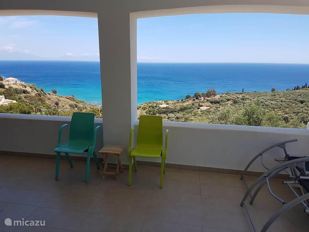 Vakantiehuis Griekenland, Peloponnesos, Vasilitsi villa The sea the sea