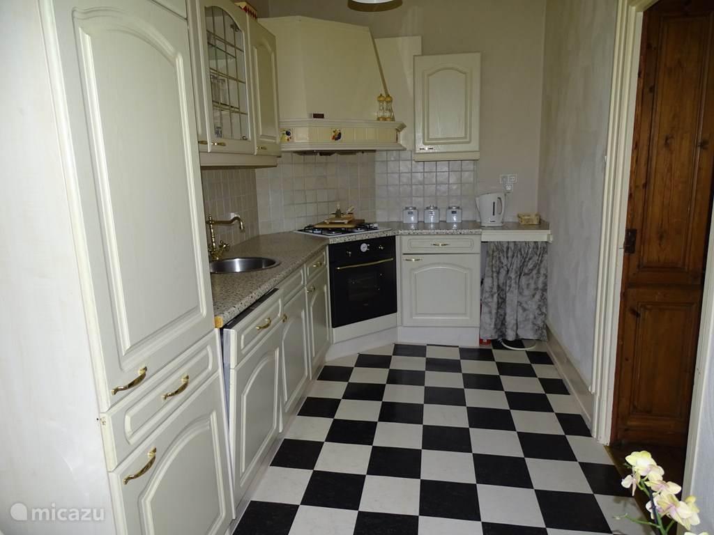 keuken appartement La Charme