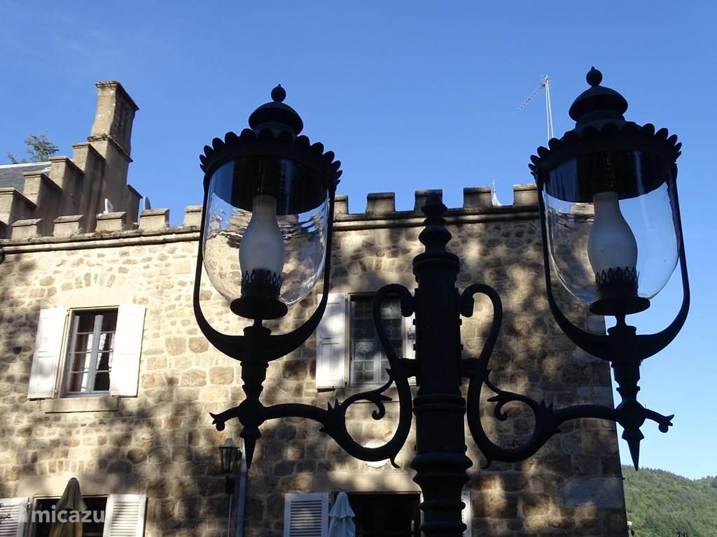 achterzijde van het Chateau