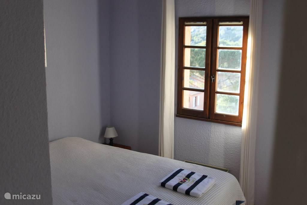 Masterbedroom met 2p bed (1.60x2.00)