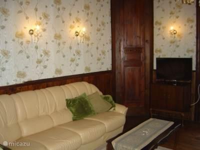 zitkamer met tv