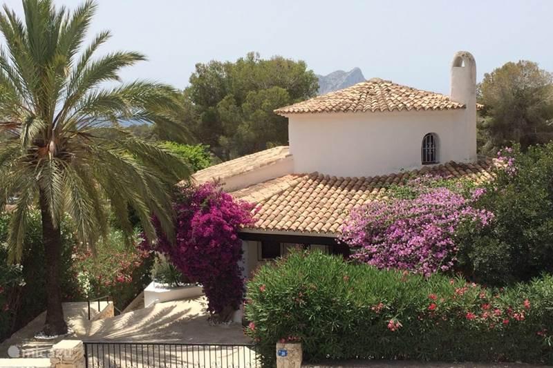 Vakantiehuis Spanje, Costa Blanca, Benissa Villa Villa La Bohemia