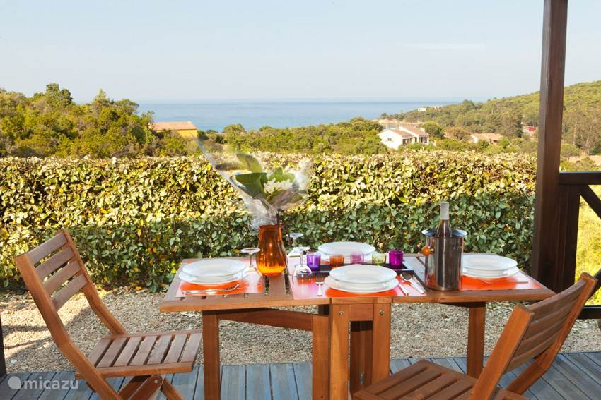 Vacation rental France, Corsica – chalet Chalet Moia Vista South Corsica