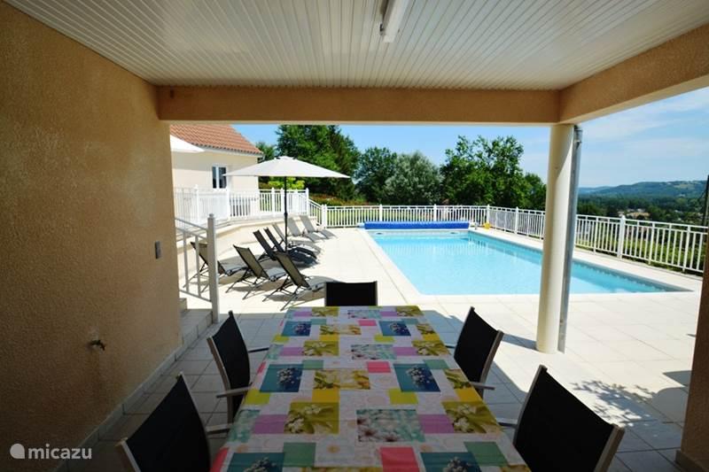 Vakantiehuis Frankrijk, Dordogne, Terrasson Villa La Laureraie met verwarmd zwembad