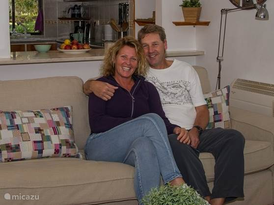 Uw gastvrouw & Heer: Nicole & Ignaat