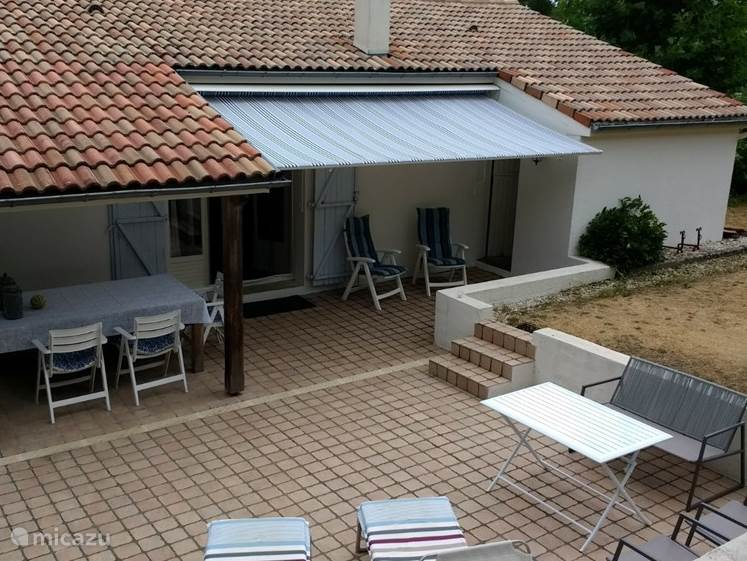 Heerlijke terrassen in de zon of in de schaduw