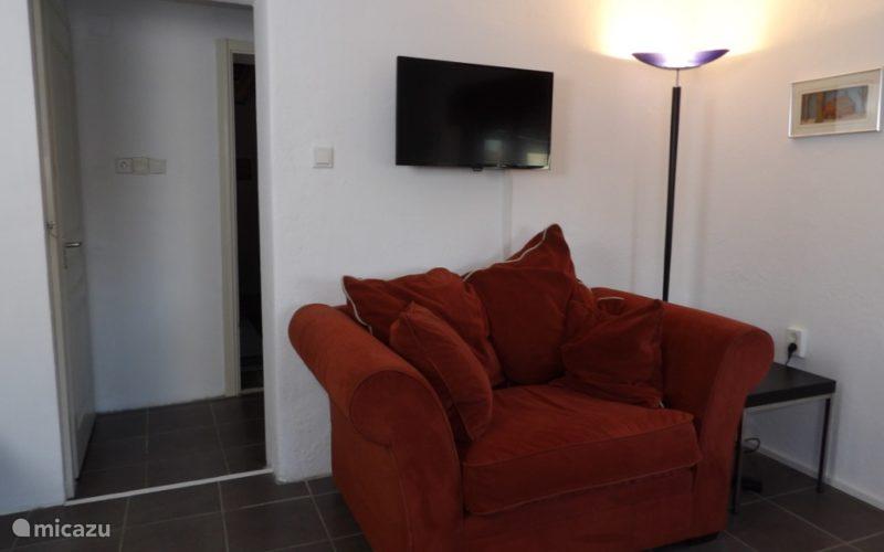 TV in de lounge ruimte