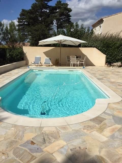 Zwembad overzicht