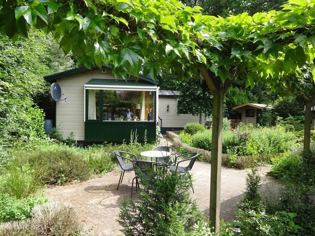 Vakantiehuis Nederland, Gelderland, Winterswijk bungalow Boshuisje 'De Wielewaal'