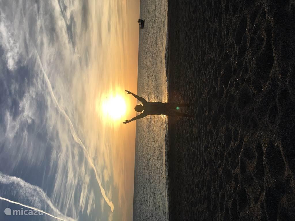 Zonsondergang in Gabo de Gata